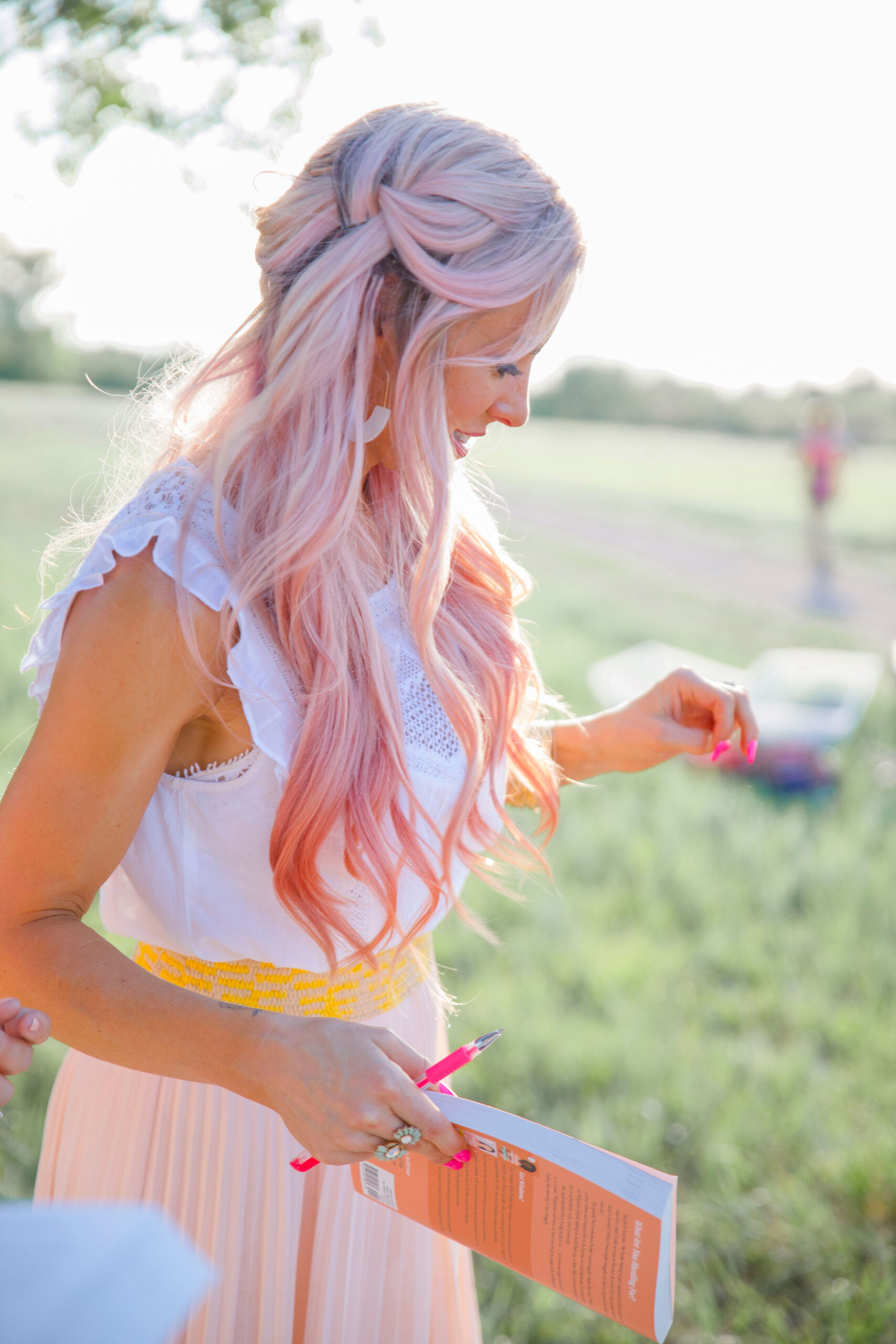 What Pink Hair Taught Me About Living Authentically